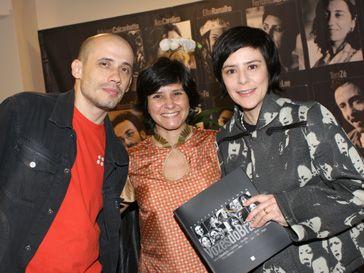 John Ulhoa, eu e Fernanda Takai