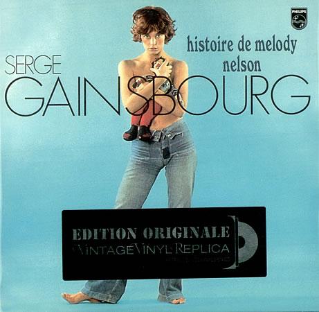 Capa de um Lp de Serge Gainsbourg