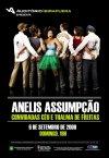 cartaz do show de hoje com Anelis Assumpção e Banda