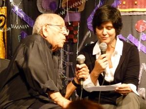 Zé Menezes e eu no Instrumental Sesc Brasil